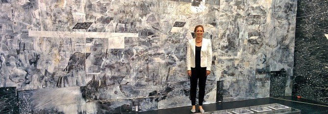 Amy Schissel with major work at Volta 10